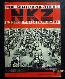 Neue-Kraftfahrer-Zeitung-NKZ-27-1940-DKW-Motoren-125er-Puch-Fahrweise-LKW-Busse