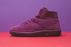 c17bd9c6efe2 2017 Nike Air Jordan 2 II Retro Decon Bordeaux Size 11. 897521-606 ...