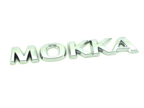 CDTI LPG 4x4 Genuine New VAUXHALL MOKKA BADGE Opel Boot Emblem 2012