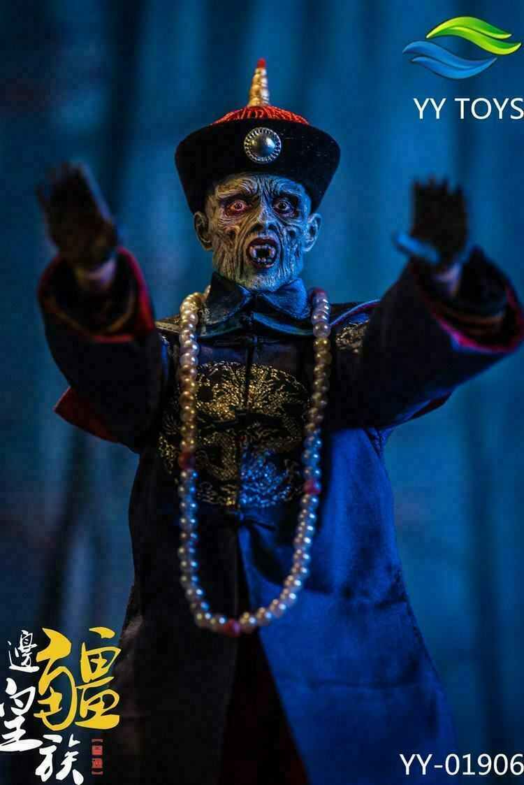 1 6 YY TOYS 01906 Uncle Zombie Frontier Royals Qing Dynasty Figure Toys Regular