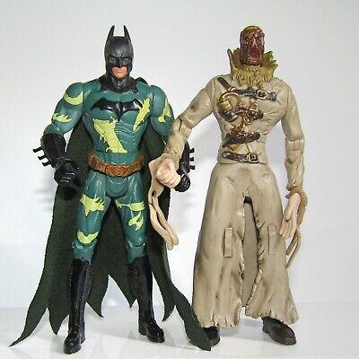 "DC Direct Comics Superhero Batman Scarecrow Custom 7/"" Loose Action Figure"