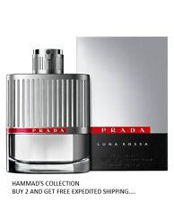 Prada Luna Rossa Pour Homme EDT Spray FOR MEN 100 ML / 3.4 OZ (NIB) SEALED