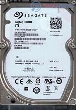 "Seagate Laptop SSHD 1TB 8GB NAND Flash 2.5"" Solid Sata Hybrid Drive ST1000LM014"