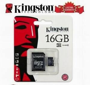 Genuine-16-Gig-16GB-MICRO-SD-Memory-CARD-PHONE-TABLET-CAMERA-Console-SDC4-16GB