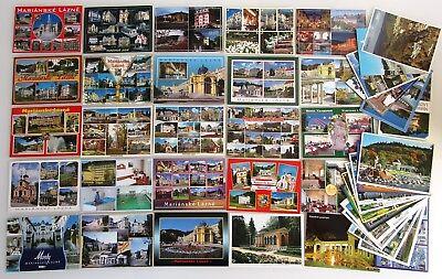 Analytisch 42 X Mariánské Lázně Marienbad Postkarten Lot Ceska Republika Frankiert Marken Mit Traditionellen Methoden