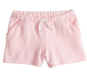 NWT Girls 3T JUMPING BEANS Jean Shorts Heart Pockets Bermuda length