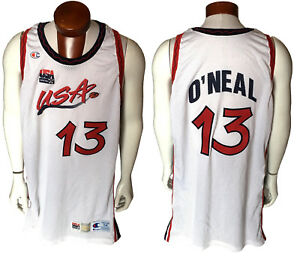 a63c3968b Shaquille O Neal Shaq game used 1996 97 USA olympic basketball ...