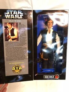 Classic-Star-Wars-HAN-SOLO-12-034-Figure-Collector-Series-by-Kenner-1996