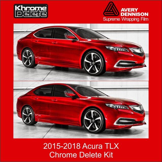 Chrome Delete Kit Fitting The 2015-2020 Acura TLX