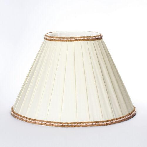 Stoffschirm Lampenschirm Aufnahme oben E27 Boylampe Stehleuchte