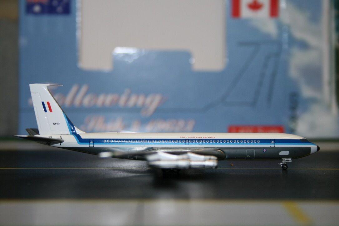 Aeroclassics 1 400 RAAF Boeing 707-300 A20-623 (ACA20623) Die-Cast Model Plane