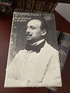 Versi d'amore e di gloria, vol.1, D'Annunzio, I Meridiani Mondadori No Edicola 1