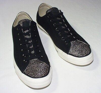 Converse All Star Low Sneaker, Suede & Calf Hair Upper, BlackEgret, 911, New 888754697208   eBay