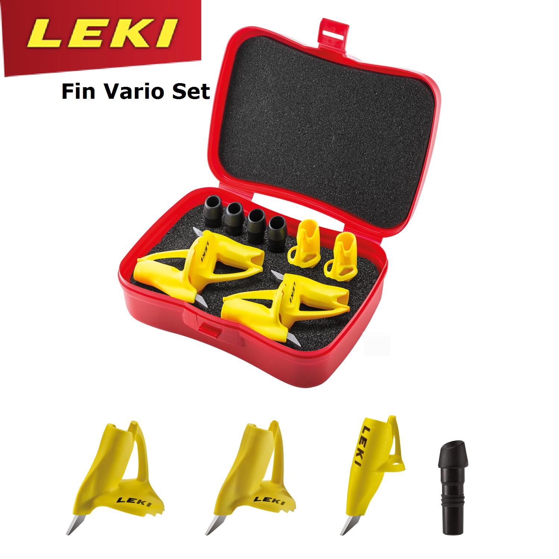 LEKI Fin Vario Set - simpler Wechsel von auf Skating auf von Langlaufspitzen - 8 und 9mm 292efb