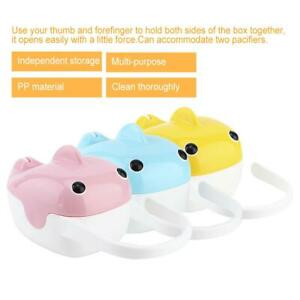 Portable Baby Nipple Box Boy Girl Infant Pacifier Cradle Case Holder Soother Box