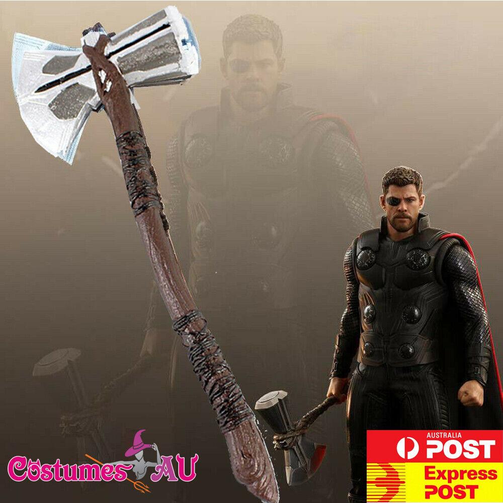 Adult Thor Marvel Avengers Endgame Superhero Weapon Stormbreaker Axe Costume