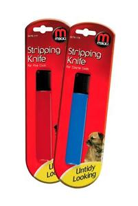 MIKKI-STRIPPING-KNIFE-FINE-COARSE-HAIR-COAT-PET-DOG-CAT-GROOMING-BLADE-TOOL-NEW