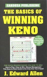 Basics-of-Winning-Keno-Paperback-by-Allen-J-Edward-Brand-New-Free-shippi