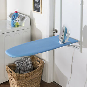 Over-The-Door-Ironing-Board-Blue-Honey-Can-Do-Durable-Wall-Mount-Design-Space
