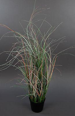 Grasbusch Eis 70cm im Topf GA Kunstpflanzen künstliches Gras künstliche Pflanzen