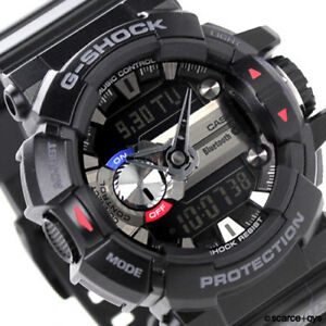 CASIO-G-SHOCK-G-MIX-Bluetooth-Black-Watch-GShock-GBA-400-1A
