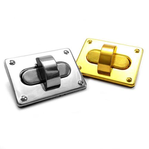 AQ3 Craft Case Clasp Turnlock Bag Purse Belt Twist Turn Lock Size 49 mm