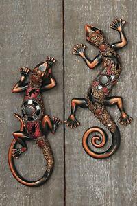 Salamander orientalisch eidechse gecko wanddeko wandh nger for Wanddeko orientalisch