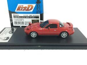 1/43 MD43234 haute histoire Modeler's initial D MAZDA NA Miata Roadster Modèle MX5 Voiture