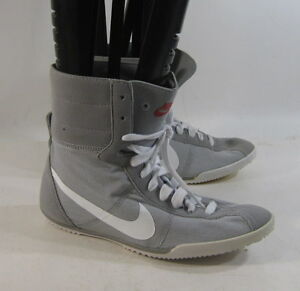 Nike Tenkay Mid 429887 001 Buty Gray Lightweight Hi Top Shoes Size 6