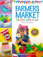 Let's Play Farmers Market 100 Stickers + Games, Crafts, And Fun Kids Book