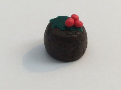 New. Dolls House Food  Christmas Pudding 12th Scale Handmade