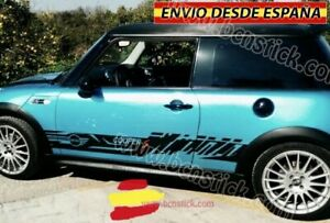 Kit-Laterales-Vinilos-Pegatinas-Decal-Stickers-Mini-Cooper-S-One-John-Works