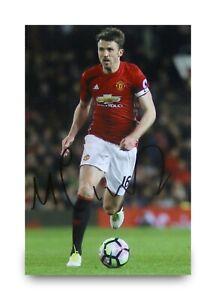 Michael-Carrick-Signed-6x4-Photo-Manchester-United-Autograph-Memorabilia-COA