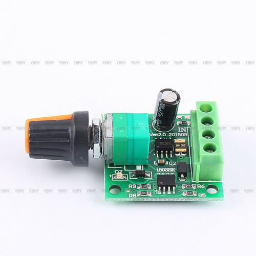 New DC 1.8v-15V Wide Voltage 2A PWM Pulse Width Speed Motor ​​Controller Switch