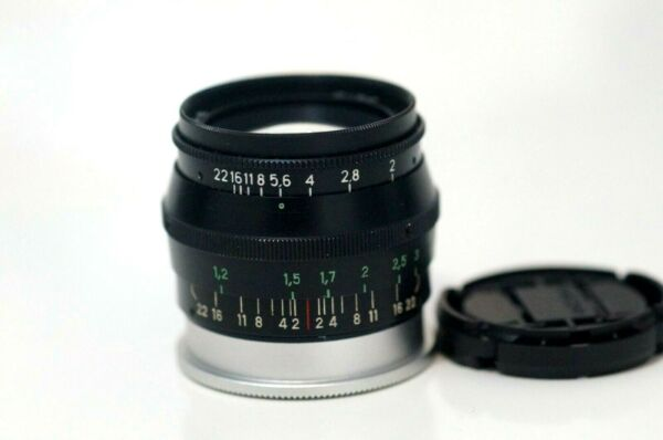 Actif Jupiter 8 50mm F2 Prime Lens M39 Leica Ltm Can Be Adapted To Fuji , Leica M9 M10