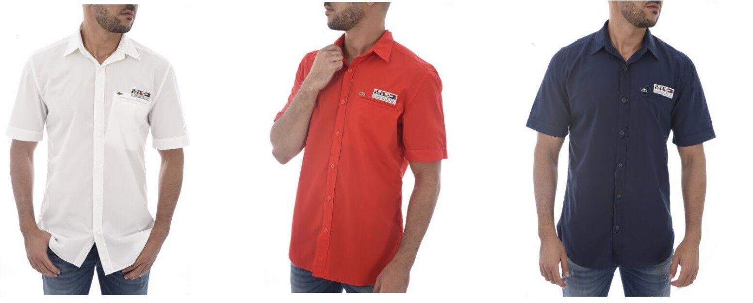 finest selection 4ea74 9e5b2 Größe Farben 3 CH6115 Fit Regular Hemd Kurzarm Lacoste S ...