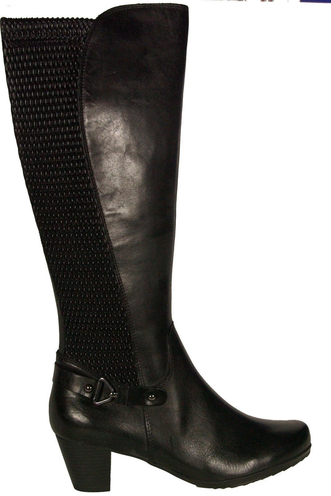 e2df2f572 Caprice zapatos botas City negro cuero genuino de vario nuevo bbf8bf ...
