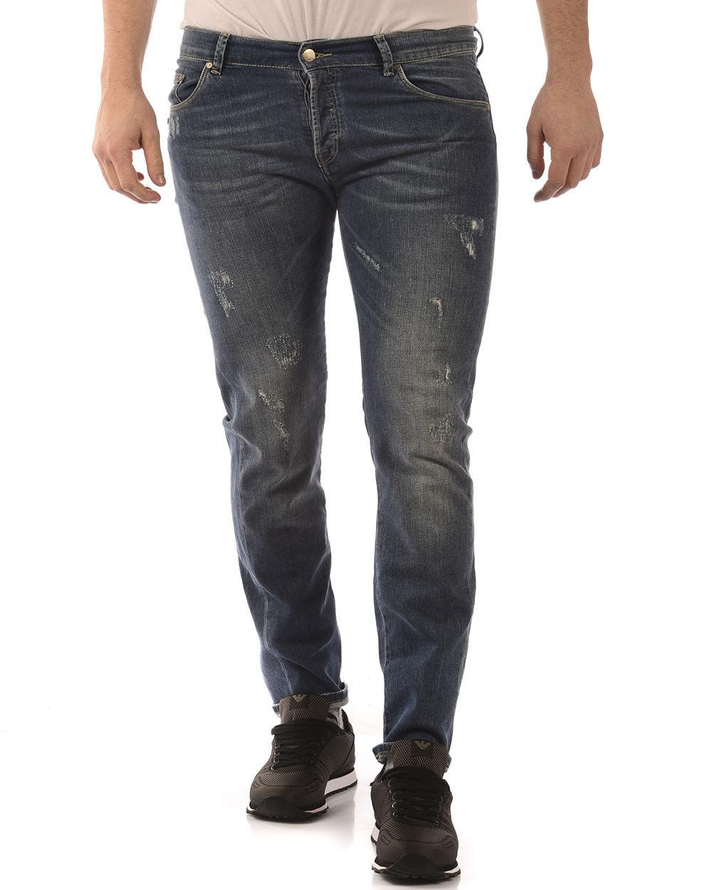 Jeans Daniele Alessandrini Jeans Cotone Uomo Denim PJ5307L3453700 1111