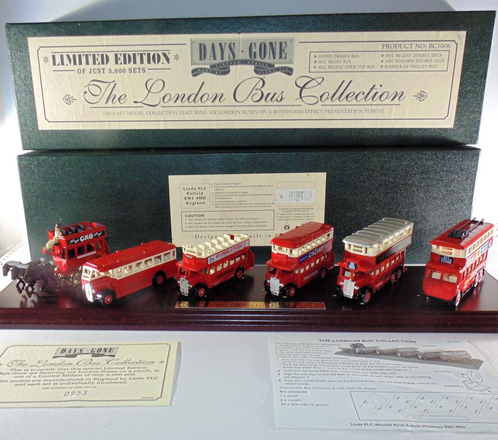 Die londoner bus - sammlung - bc1006 - lledo plc - ltd v & - coa - boxen.