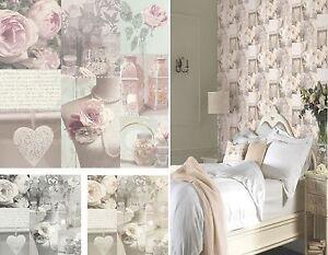blush and grey wallpaper