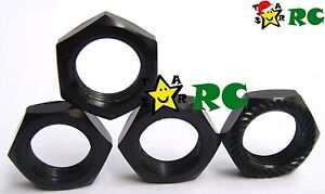 4pcs 1//8 RC 17mm Wheel Nuts Lock P1.0mm for Losi XRay Kyosho Hot Bodies Mugen