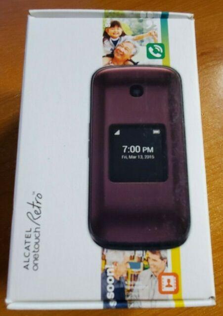 Alcatel One Touch Retro Flip Phone (Sprint)