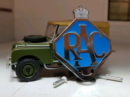 Quality 1//2 Scale Royal Automobile Club Grille Badge Toylander Land Rover Series