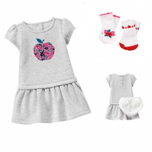 Gymboree Precious Prep Apple Dress and 2 pr Socks Set 3 6 Mos NWT Retail Store