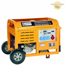 Lumag PROFIGERÄT Benzin G8E Stromaggregat Generator Stromerzeuger Notstromer 8kW
