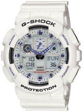 Casio G-Shock Men X-Large White & Blue Watch #GA100A-7A