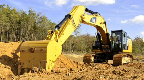 "CAT  CATERPILLAR EXCAVATOR 336E TRACK HOE CUSTOM LARGE 43/"" x 24/"" HD POSTER"