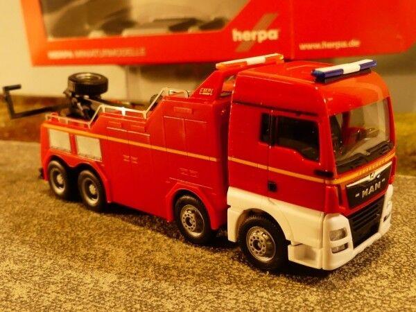 1 87 Herpa MAN TGX XLX Euro 6 C empl montagnes véhicule pompiers 309608