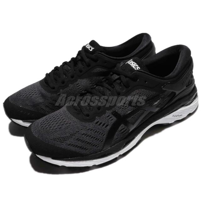 Asics GEL Kayano 24 black gray Men's Running shoes fitness sports Sneakers NEW   eBay