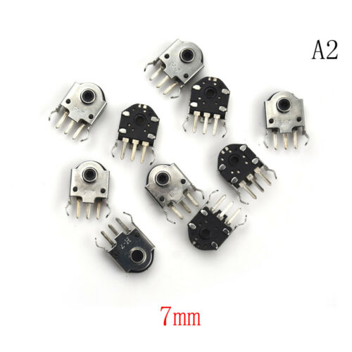 10PCS Mouse Encoder Wheel Encoder Repair Parts Switch 5//7//9//11//13mm HF TB